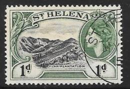 St. Helena, Scott # 141 Used Flax Plantation, 1953 - Saint Helena Island
