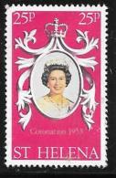 St. Helena, Scott #317b Used Coronation Anniv., 1978 - Saint Helena Island