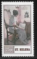 St. Helena, Scott #532 MNH Queen Mother 90th Birthday, 1990 - Saint Helena Island
