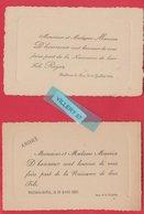 28 (Eure Et Loir)  BALLEAU LE PIN.   2 Faire Part De Naissance. 1923  Et  1928. - Birth & Baptism