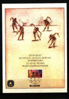 Deutschland / Germany Berlin 1981 Frauen-Gruppengymnastik Interessanten Ersttagblatt - Gymnastik