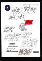 Deutschland / Germany Berlin 1980 Pferdesport Interessanten Ersttagblatt - Reitsport