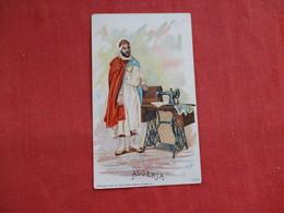 Singer Sewing Trade Card 1892 Algeria > Ref 2814 - Advertising