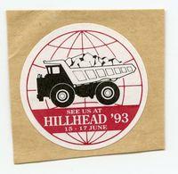 CINDERELLA : UK - HILLHEAD 1993 - Cinderellas
