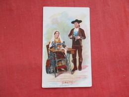 Singer Sewing Trade Card 1892 Spain   > Ref 2814 - Advertising