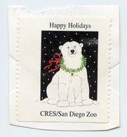 CINDERELLA : USA - CRES / SAN DIEGO ZOO - HAPPY HOLIDAYS - Cinderellas