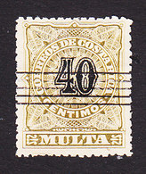 Costa Rica, Scott #J7, Used, Postage Due, Issued 1903 - Costa Rica