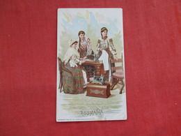 Singer Sewing Trade Card 1892  Roumania  > Ref 2814 - Advertising