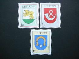 Town Arms # Lietuva Litauen Lituanie Litouwen Lithuania 2000 MNG # Mi. 739/1 Without Glue.no Gum - Lithuania