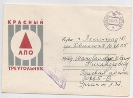 Military Cover Mail Used Field Post Stationery USSR RUSSIA Europe Magdeburg - Militaria