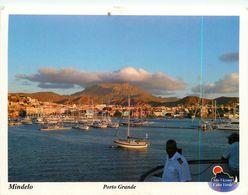 MINDELO PORTO GRANDE CAP VERT CARTE TIMBREE - Cape Verde