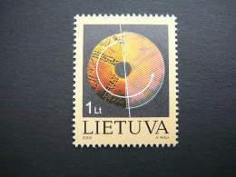 Welcome To 3rd Millennium # Lietuva Litauen Lituanie Litouwen Lithuania 2000 MNH # Mi. 748 - Lithuania