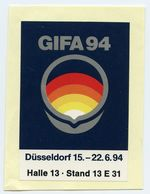 CINDERELLA : GERMANY - GIFA 94, DUSSELDORF - Cinderellas