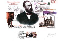 Deutschland / Germany 1997 Heinrich Von Stephan Grafik Mit Zertifikat - Post