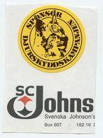 CINDERELLA : SWEDEN - SPONSOR DJURSKYDDSKAMPANJEN - Cinderellas