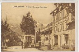 Savoie - Lanslebourg - Electrobus Et Hotel De L'Europe - - France