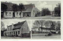 Berlin Kaulsdorf Lindow I. Dorfstategasthof U. Kolonialw V.r. Stein Kirche - Ohne Zuordnung