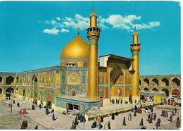 IRAQ PC The Golden Mausoleum Of The Imam Ali, Najaf Al-Ashraf, Posted, 3 Stamps PC USED - Iraq