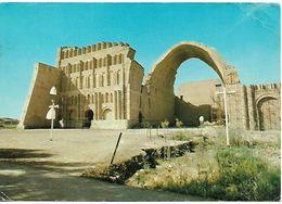 IRAQ PC Ctesiphon Arch At Salman Pak, Posted, 3 Stamps PC USED - Iraq