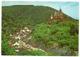 LUXEMBOURG - VIANDEN VUE SUR LE CHATEAU ET LA VILLE - Vianden