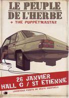 - Flyer - Le Peuple De L'herbe - Hall C De St Etienne - - Musique & Instruments