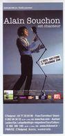 - Flyer - Alain Souchon - Le Zénith De St Etienne - - Musique & Instruments