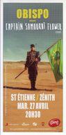 - Flyer - Obispo - Le Zénith De St Etienne - - Musique & Instruments