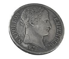 5 Francs - Napoléon 1er - France - 1811 A -  Paris - Argent - TB+ - - France