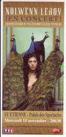 - Flyer - Nolwenn Leroy - Palais Des Spectacles De St Etienne - - Music & Instruments