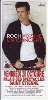 - Flyer - Roch Voisine - Palais Des Spectacles De St Etienne - - Musique & Instruments