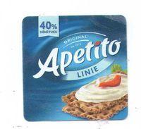 Czech Republic - Mark APETITO, Linie (light), Small Square - Cheese