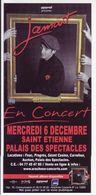 - Flyer - Jamait - Palais Des Spectacles De St Etienne - - Musique & Instruments