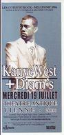 - Flyer - Kanye West + Diam's - Théatre Antique De Vienne - - Music & Instruments