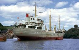7X5 PHOTO OF BOY MATHIESEN AT FOWEY - Boats