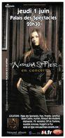 - Flyer - Natasha St Pier - Palais Des Spectacles De St Etienne - - Musique & Instruments