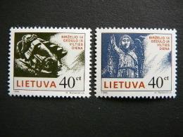 Day Of Mourning And Hope # Lietuva Litauen Lituanie Litouwen Lithuania 1996 MNH # Mi. 613/4 - Lithuania