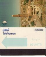 TARJETA TELEFONICA DE YEMEN. (001) - Yemen