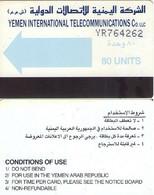 TARJETA TELEFONICA DE YEMEN. (007) - Yemen