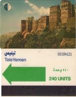 TARJETA TELEFONICA DE YEMEN. (009) - Yemen