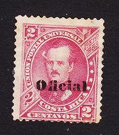 Costa Rica, Scott #O3, Mint No Gum, Overprinted Issues, Issued 1883 - Costa Rica