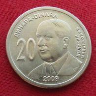 Serbia 20 Dinar 2009 Milankovich Serbie Serbien Servia Uncºº - Serbia
