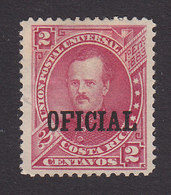 Costa Rica, Scott #O13, Mint No Gum, Overprinted Issues, Issued 1886 - Costa Rica