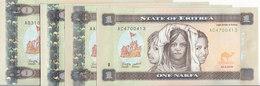 ERITREA 1 5 10 20 NAKFA 2015 P-13 14 15 16 UNC SET */* - Eritrea