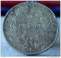 2 FRANCS CERES 1872 K TTB - France