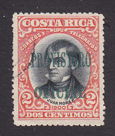 Costa Rica, Scott #O44, Used, Overprinted Issues, Issued 1903 - Costa Rica
