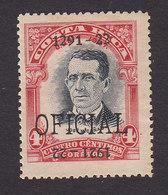 Costa Rica, Scott #O60, Mint Higned, Overprinted Issues, Issued 1921 - Costa Rica