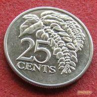 Trinidad E Tobago 25 Cents 2004 KM# 32 Trinite & Tobbacco - Trinidad & Tobago
