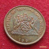 Trinidad E Tobago 5 Cents 1997 KM# 30  Trinite & Tobbacco - Trinidad & Tobago