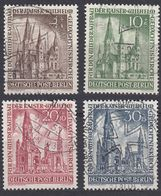 BERLINO - 1953 - Serie Completa Usata Yvert 92/95. - Used Stamps