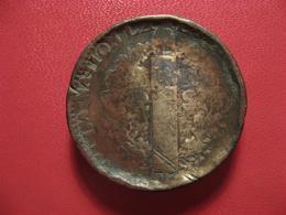 2 Sols Louis XVI 1792 W Lille - Transformé En Palet 4379 - 1789-1795 Period: Revolution